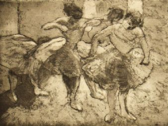 H. Simons; Ballerina after Degas
